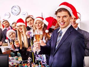 serving alcoholic drinks at workplace events